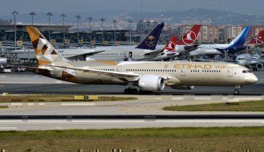 Etihad, 787 Dreamliner