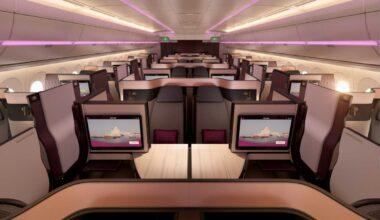 Qatar Airways Qsuite Business