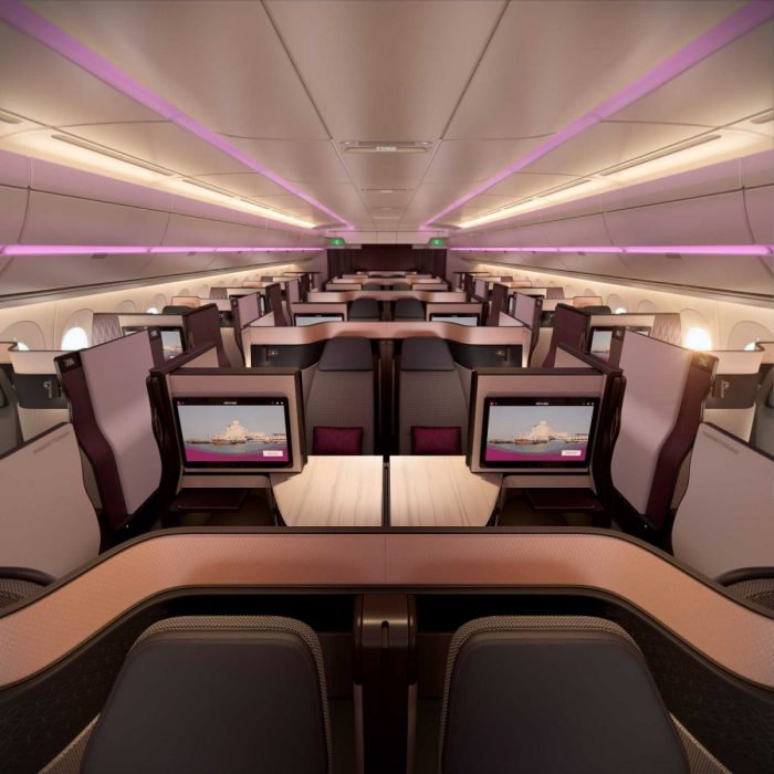 Qatar Airways Qsuite Business