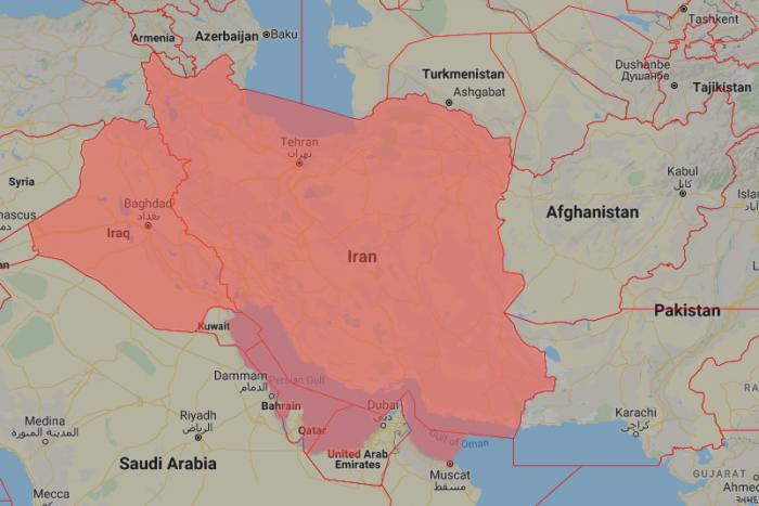Iran, Iraq, Airspace Ban