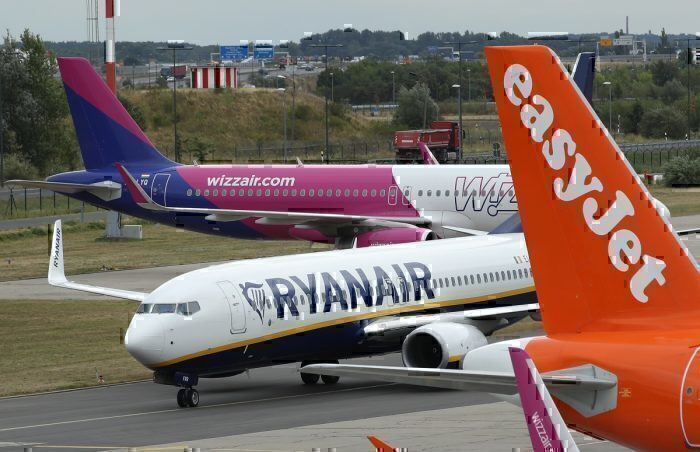 Wizz Air, Ryanair, Easyjet