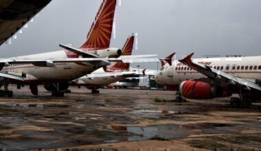 Air India Grounded PLanes GEtty Images