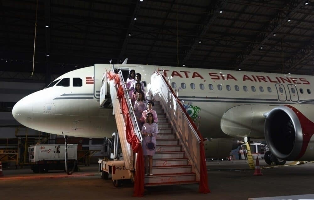 Tata Sons Vistara retrojet getty