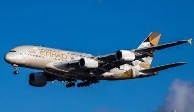Etihad Airways plane Getty Images