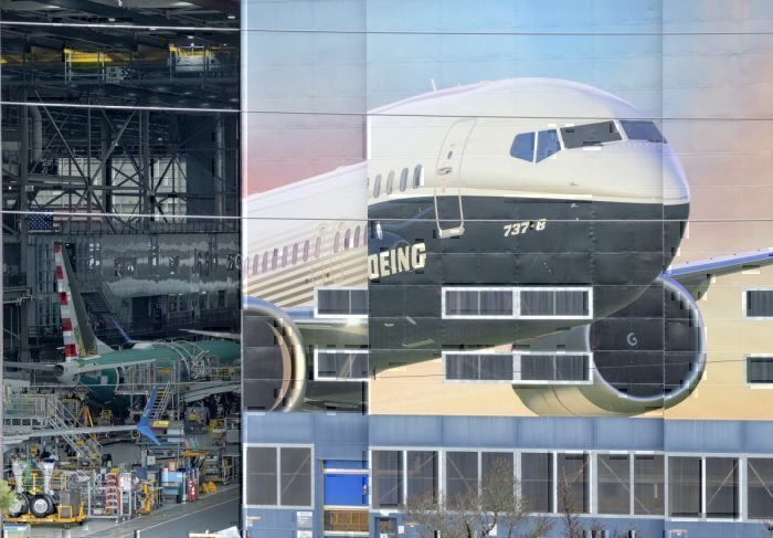 Boeing 737 manufacturing plant in Renton