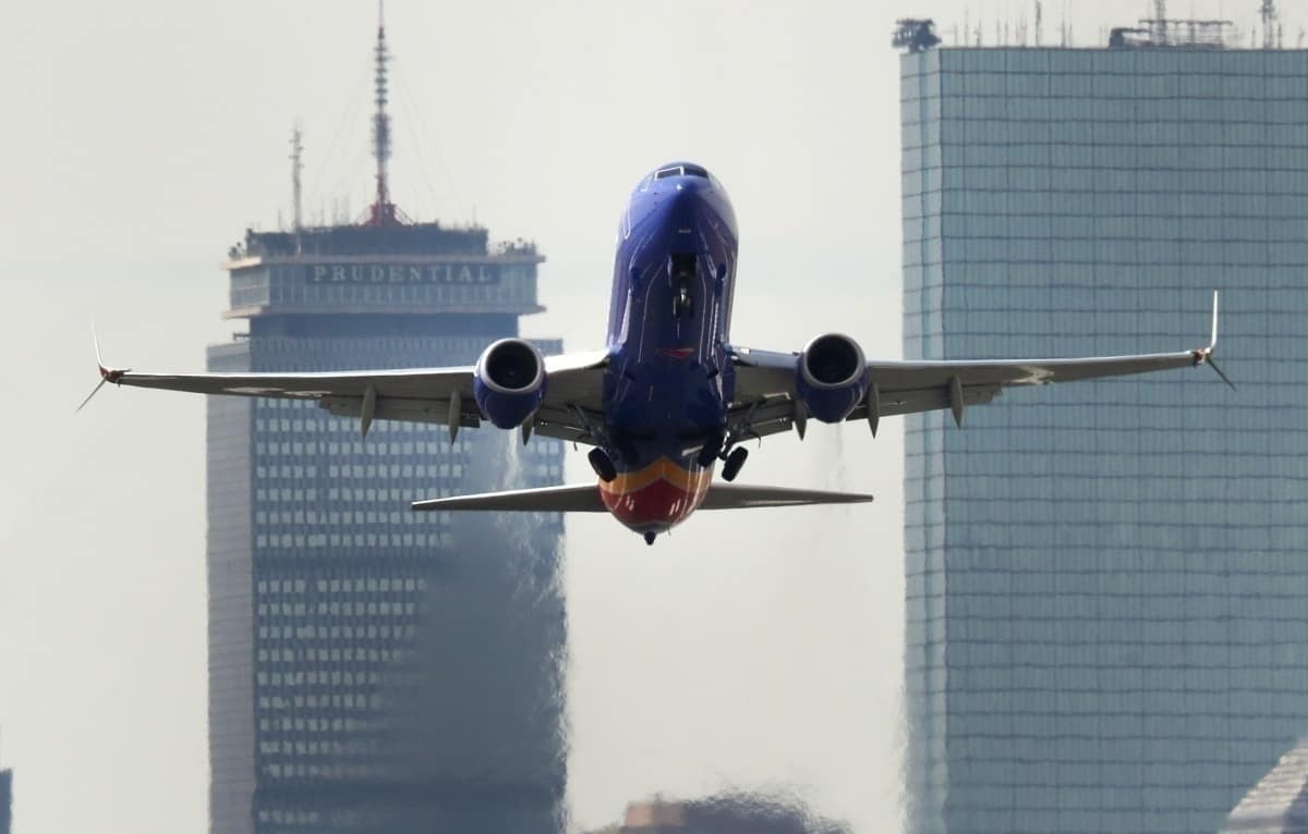 Southwest Airlines take off