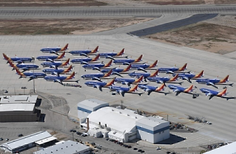 Boeing 737 MAX, Southwest Airlines, Grounding