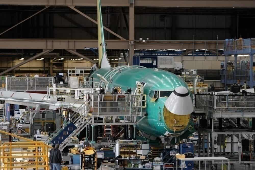 737 MAX factory