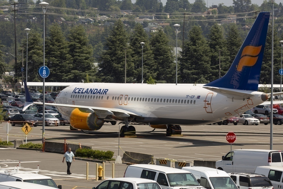 grounded icelandair boeing 737 MAX getty images
