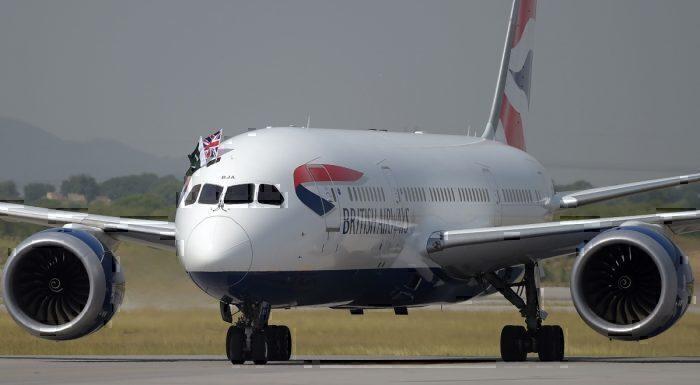 British Airways Pakistan Flight