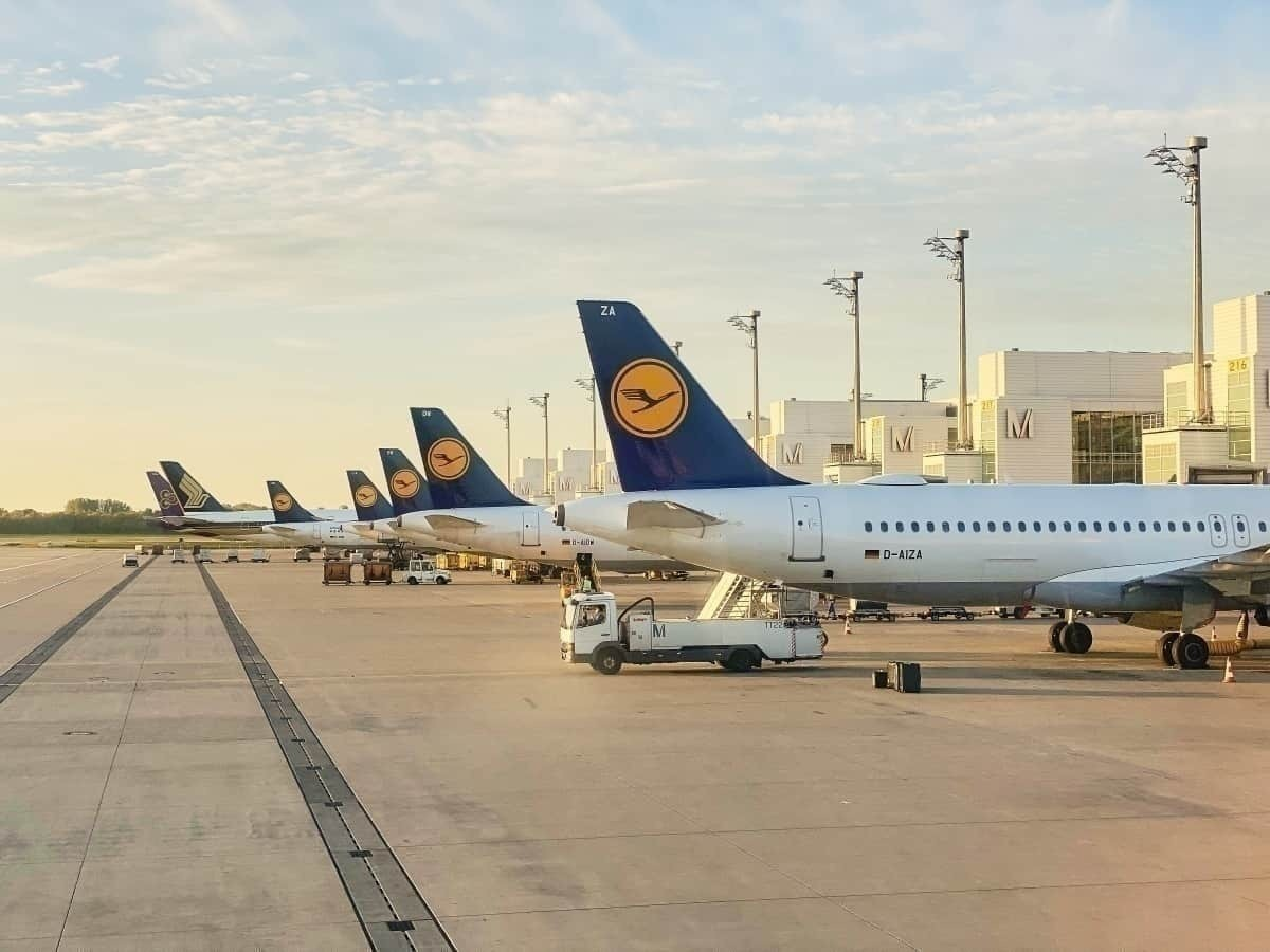 Lufthansa tails getty images