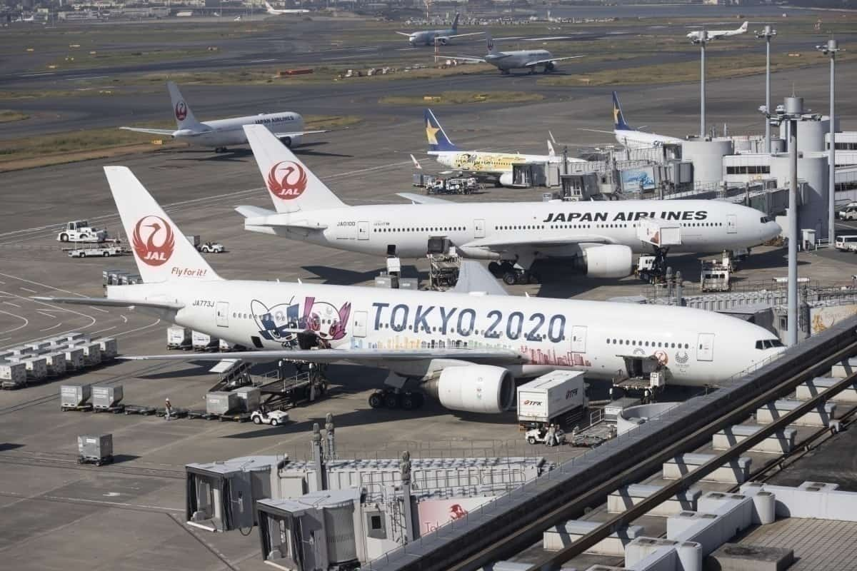Japan Airlines Tokyo 2020 livery GettyImages