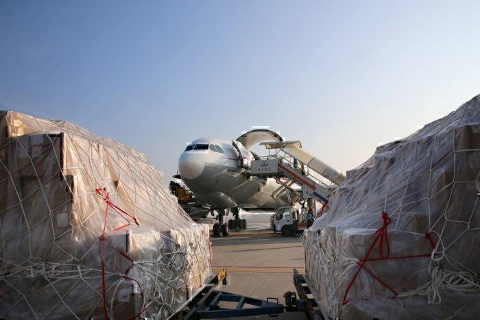 China cargo plane