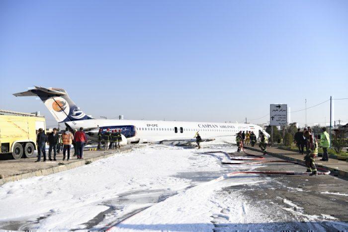 Iran, MD-83 Crash, Caspian Airlines