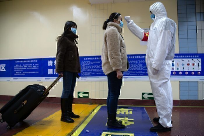 coronavirus temperature check getty images
