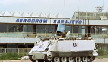 Sarajevo International Airport and UN forces