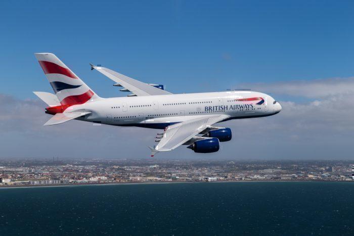 British Airways, Airbus A380, Las Vegas