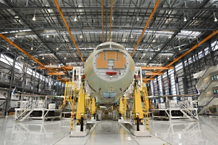 Airbus Mobile factory