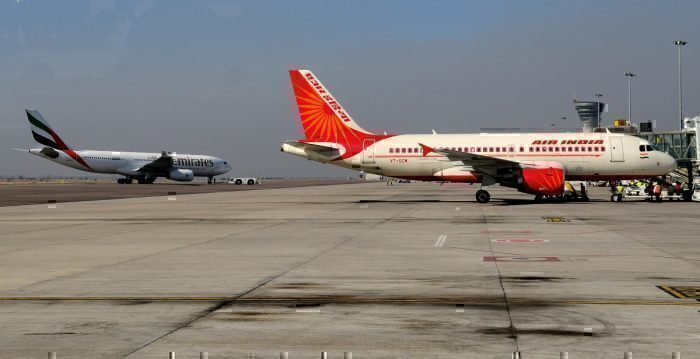 Emirates Air India Getty Images