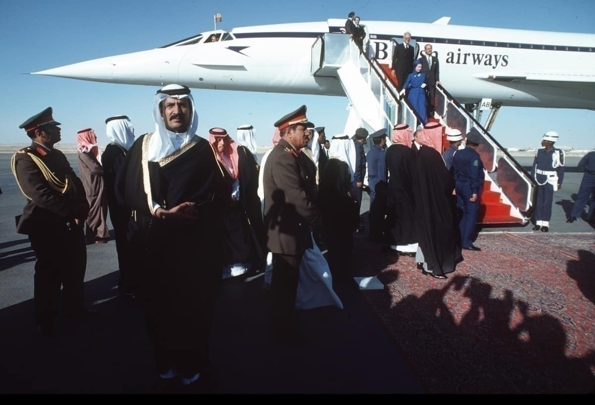 Queen of Riyadh Concorde BA