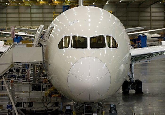 Boeing 787 Dreamliner factory