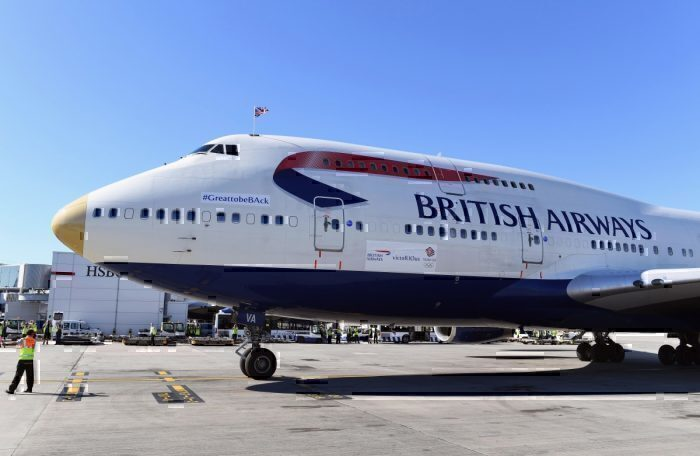 British Airways, Team GB, Tokyo Olympics