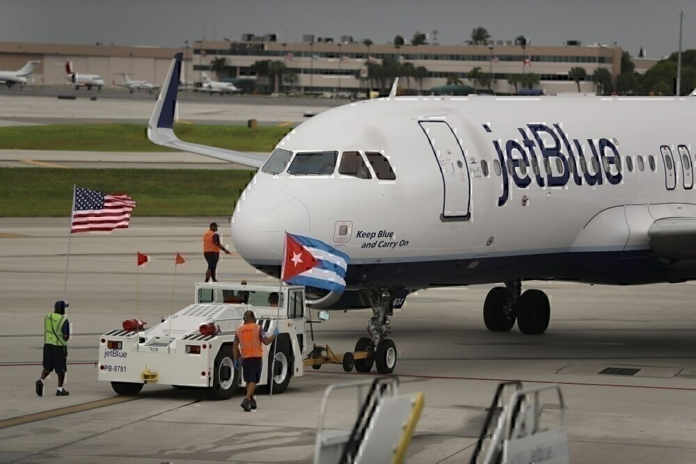JetBlue Cuba Havana Getty Images