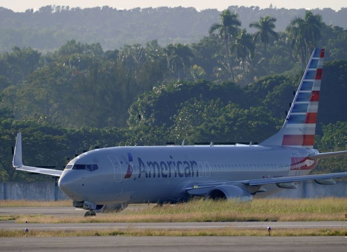 American Airlines Cuban Havana Getty Images