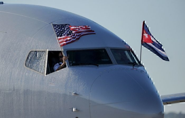 american airlines first cuba flight getty images