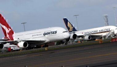 Qantas Singapore Airlines