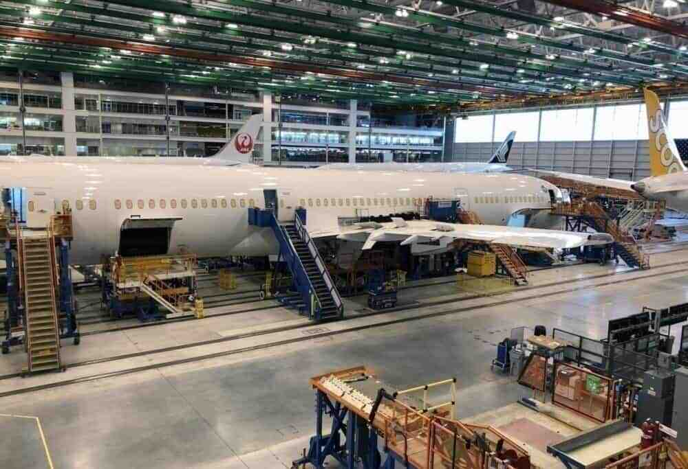 Boeing 787 Dreamliner factory