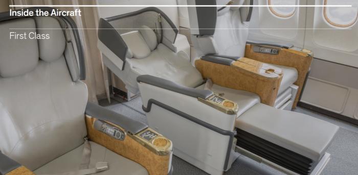 Hi Fly first class