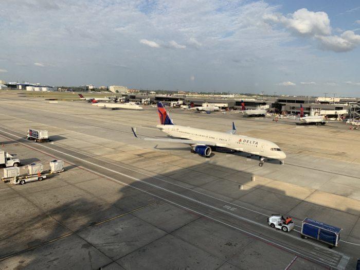 Delta planes atlanta