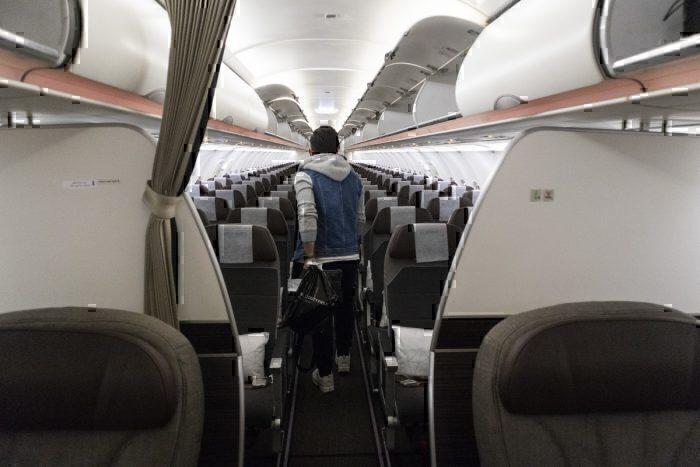 Interior Etihad A320