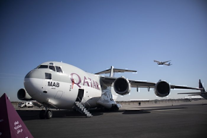 This Airforce C17 Wears The Qatar Airways Livery – Here's Why