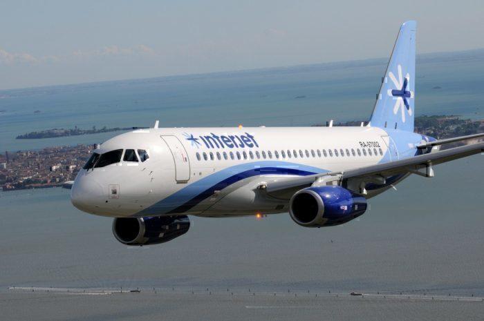 SSJ100 of Interjet