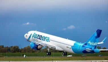 Jazeera Airways 2nd A320neo – Oct 18, 2019 (2)