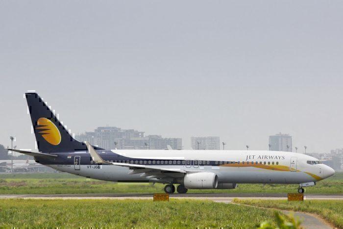 Jet Airways Boeing 737-800 VT-JGG Taxiing to Runway