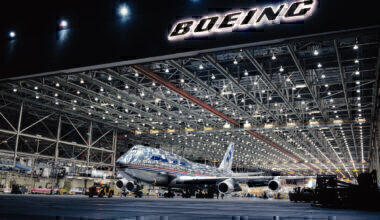 Boeing 747 factory