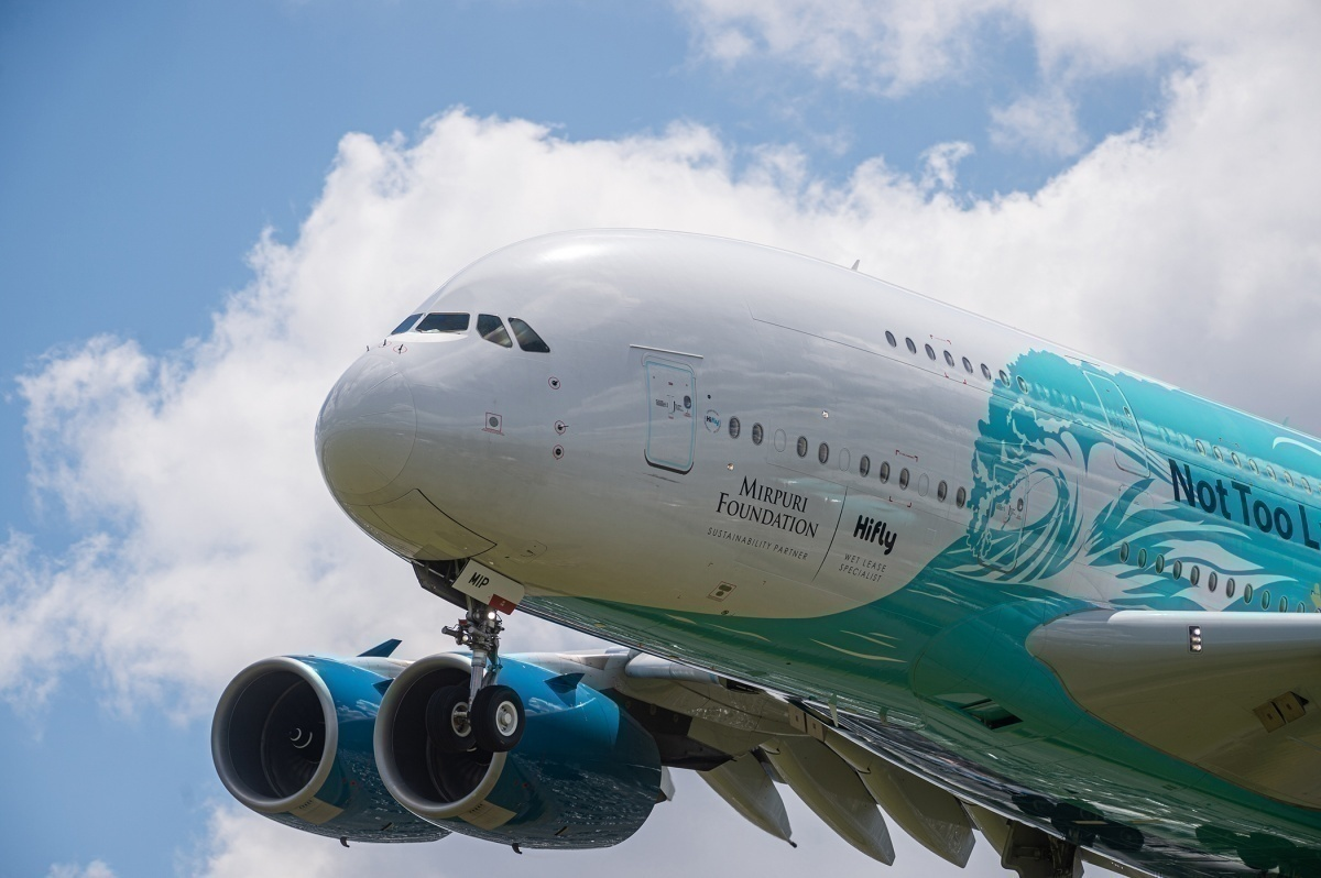 Hi Fly's Airbus A380 Returns To Service Following Maintenance