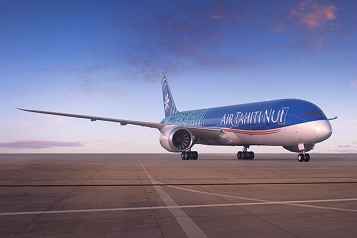 Inside Air Tahiti's Dreamliner Livery – Tattoos With Meaning