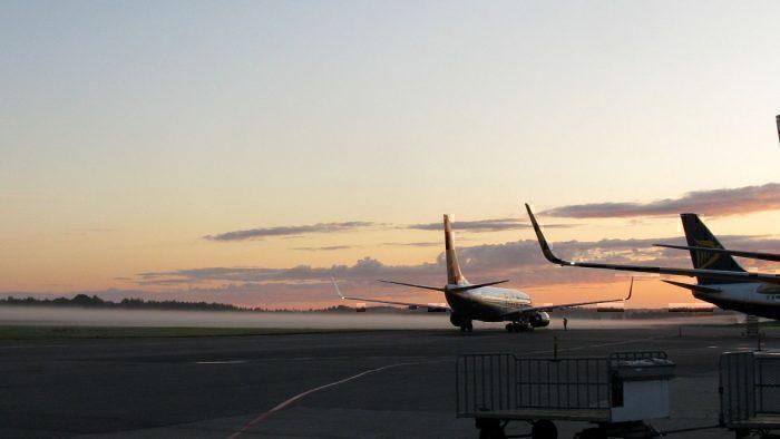 Ryanair at Stockholm
