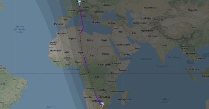 SAA A350 europe