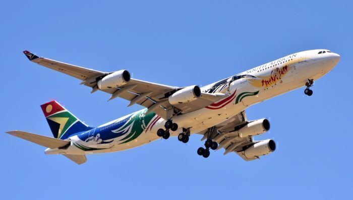 SAA Airbus a340