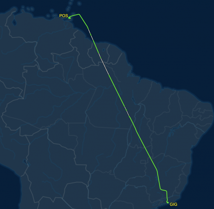 DL60 Flightpath