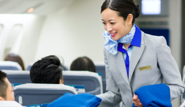 ANA flight attendant