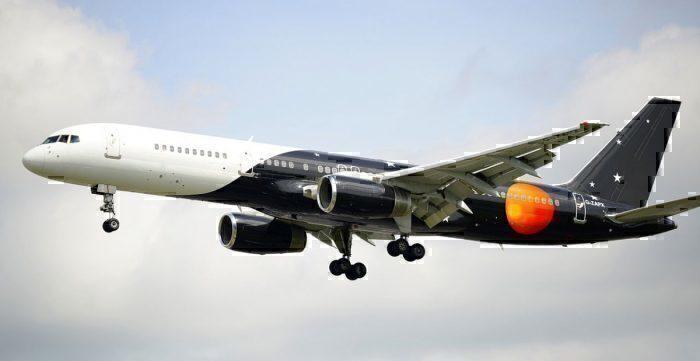 Titan Airways Boeing 757