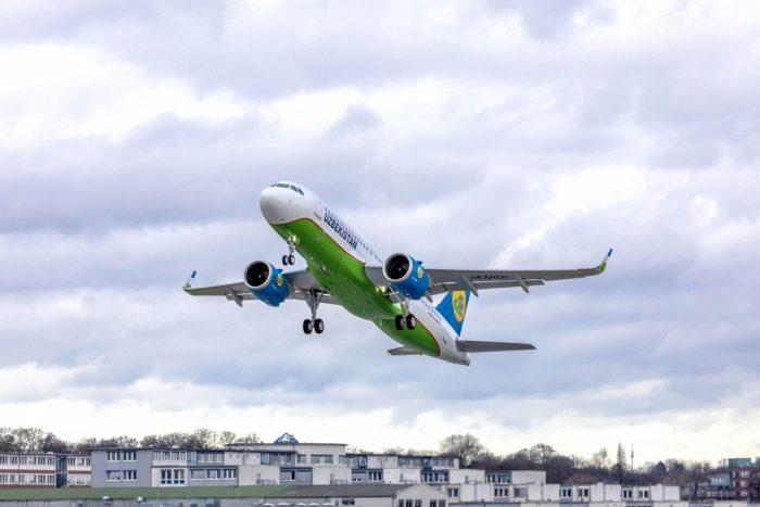 Uzbekistan Airways A320neo