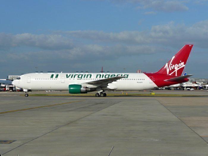 Virgin Nigeria 767