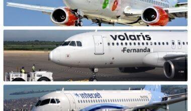 Viva, Volaris and Interjet